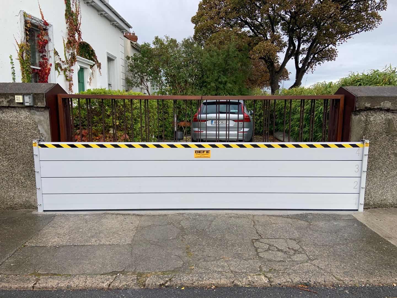 Flood barrier 7